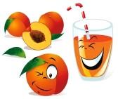 14872742-peach-tea-or-juice-and-still-life